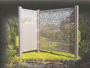 Panneau Décoratif Extérieur : cloisons d coratives et am nagement de panneaux aluminium ~ Premium-room.com Idées de Décoration
