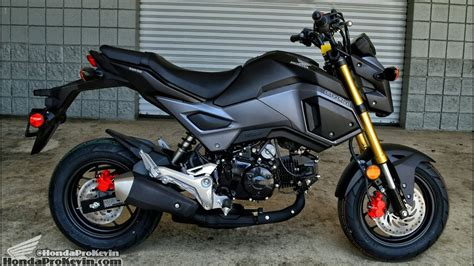 2017 Honda Grom 125 Walk-around / Start-up Video