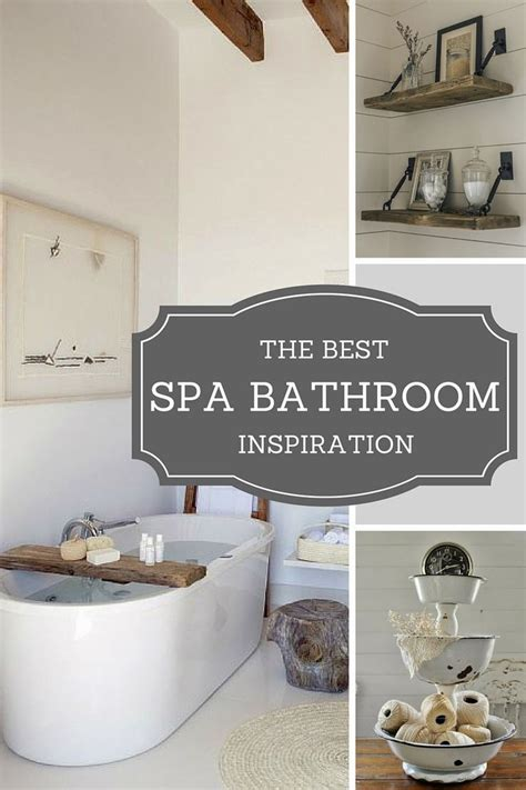 Spa Like Bathroom Decor by Best 25 Spa Bathrooms Ideas On Spa Bathroom