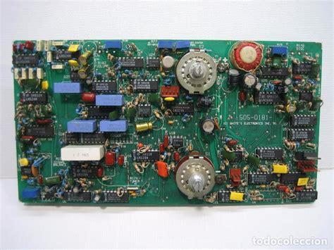 placa electronica de detector de metales whites comprar