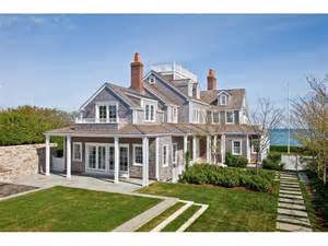 Cottage Style Fireplace by Daily Dream Home Nantucket Massachusetts Pursuitist