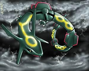 pokemon wallpaper rayquaza