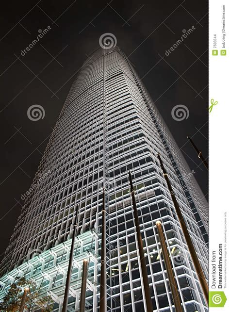 tallest building  hong kong stock photo image  business architecture