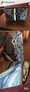 Coach Purse Some Damage On Bottom Corners And Stains