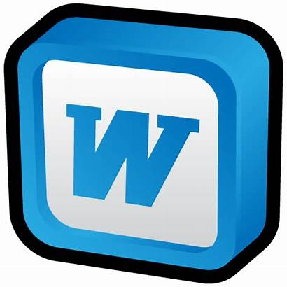 Word Microsoft Icon Transparent Ms Cartoon Icons