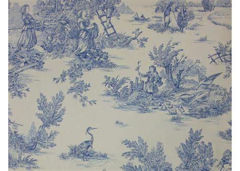 canapé fushia tissu 100 coton motif toile de jouy