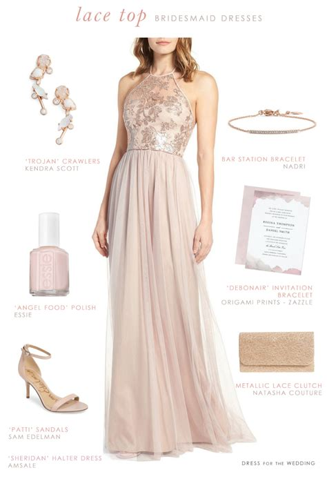 bridesmaid dresses for lace top bridesmaid dresses dress for the wedding