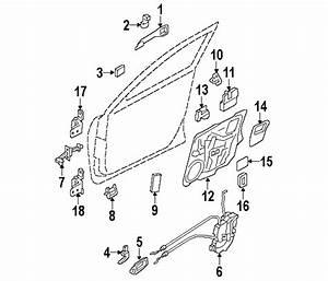 Mazda Bp4k58270g Genuine Oem Door Check