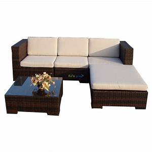 Gartenmöbel Sitzgruppe Rattan Lounge : poly rattan gartenm bel california alu garnitur ~ Sanjose-hotels-ca.com Haus und Dekorationen