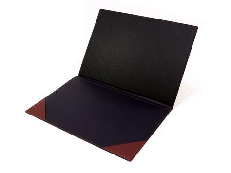 sous cuir bureau sous de bureau en cuir marron à rabat sous cuir