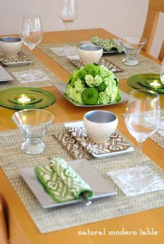 table coordination on table settings and style