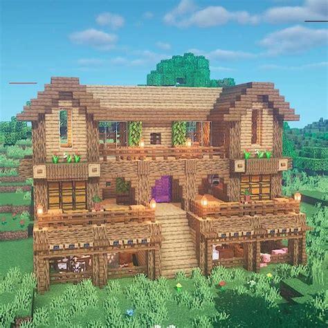executivetree minecraftbuilds  instagram minecraft ultimate wooden survival base