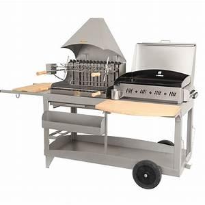 Barbecue Gaz Et Charbon : barbecue et plancha au charbon de bois et au gaz ~ Dailycaller-alerts.com Idées de Décoration
