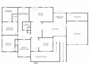 House floor plans photo gallery of floor plan of house for House plans with interior photos