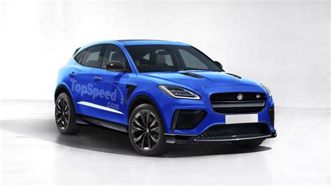 2019 Jaguar Epace Svr Review  Top Speed