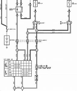 I Need A Wiring Diagram For The Headlight Circuit Of A