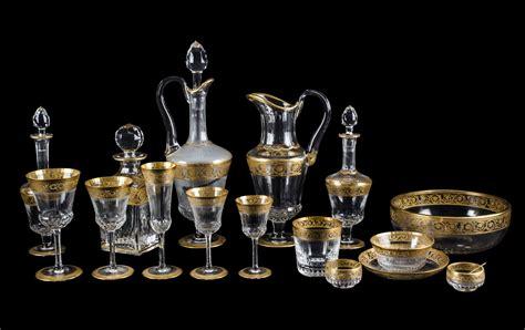 louis bicchieri servizio in cristallo louis composto da 12 flut 12