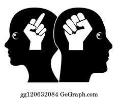 aggressive behavior stock illustrations royalty
