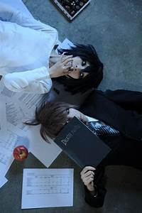 Death note cosplay, Death note and L and light on Pinterest