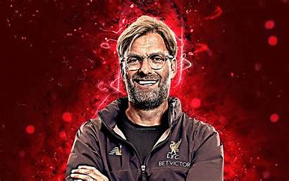 Klopp Liverpool Jurgen 4k Coach Fc Lfc
