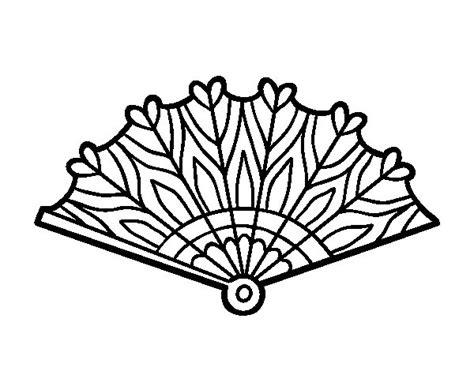hand fan drawing  getdrawings