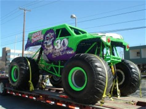 grave digger 30th anniversary monster truck toy a monster of a challenge for rbli kent business tv