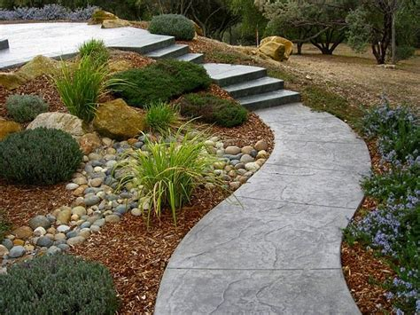sloped walkway ideas path to second level in a sloped backyard backyard pinterest sloped backyard paths and
