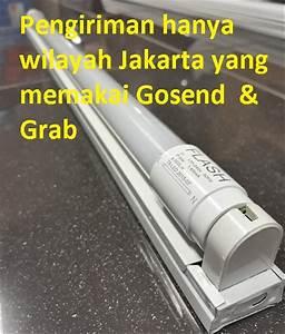 Jual Lampu Neon Led Tl Tube T8  U0026 Kap Balok 60 Cm Flash Di