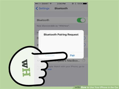 how to put iphone in discovery mode 3 ways to use your iphone in the car wikihow