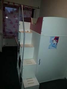Treppe Mit Schubladen : hochbett mit kleiderschrank schreibtisch mit ~ Michelbontemps.com Haus und Dekorationen