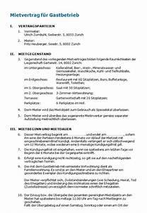 Mietvertrag Mit Mindestlaufzeit : mietvertrag restaurant muster zum download nach schweizer ~ Lizthompson.info Haus und Dekorationen