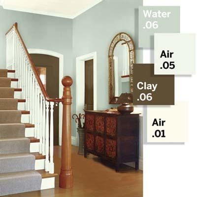 bold paint colors for small spaces entry foyer mix warm and cool hues 3 small spaces 9 bold color ideas this old house