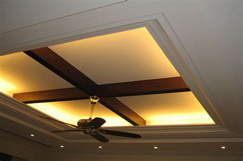 Storage Ideas For Kitchen - top false ceiling lighting with wooden design kolkata west bengal