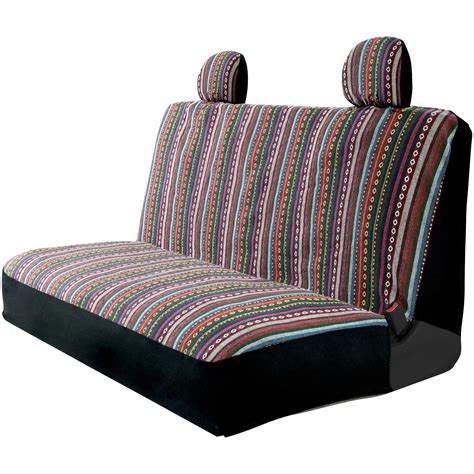 Bench Seat Covers For Cars by Auto Drive Easy To Install Multicolored Striped Bench Seat