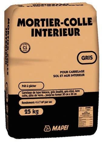 mortier colle gris pour carrelage 25 kg mapei brico d 233 p 244 t