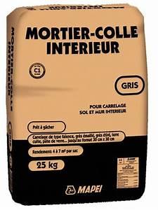 Colle Carrelage Exterieur Brico Depot : mortier colle gris pour carrelage 25 kg brico d p t ~ Dailycaller-alerts.com Idées de Décoration