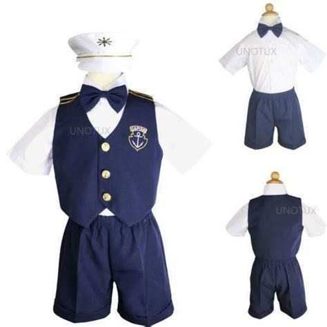 baby boy sailor outfit ebay