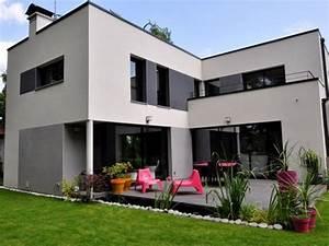interieur maison cubique With entree de jardin moderne 5 maison semi cubique en briques