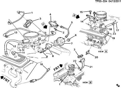 diagram of a gm 5 7 liter engine autos post