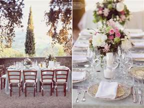 wedding decor table decorations wedding tuscany my italian wedding my italian wedding