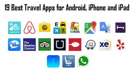 travel apps for iphone best travel apps that you can for free