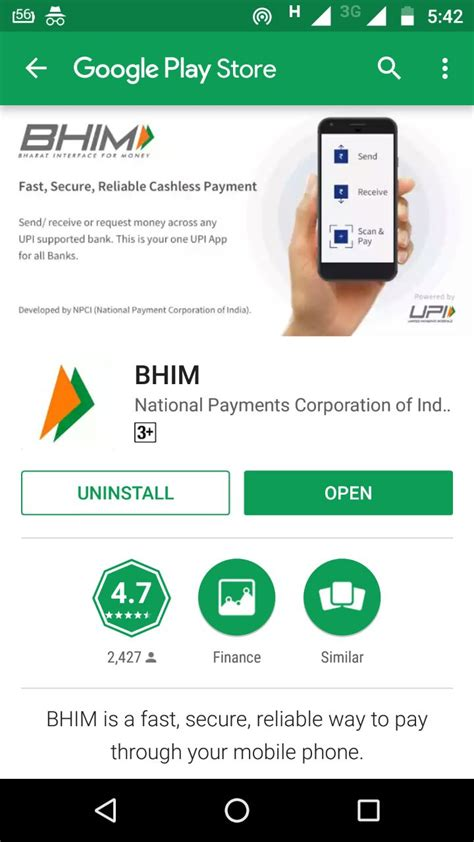 bhim app for android iphone ios cashback offers how to install send transfer