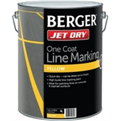 Berger Jet Dry 10L White Gloss Paving Paint   Bunnings