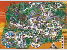 Theme Park Brochures Six Flags America Theme Park Brochures