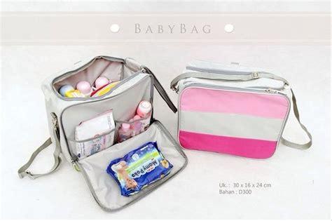 jual tas perlengkapan bayi baby balita anak popok bag organizer ransel
