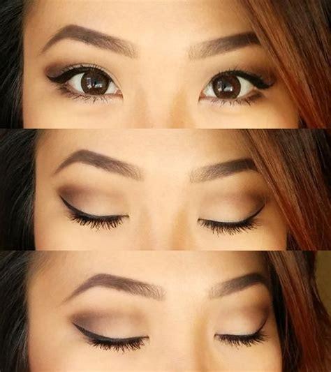 makeup  hooded eyes images  pinterest