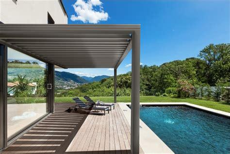 pergola bioclimatique lames orientables vie veranda