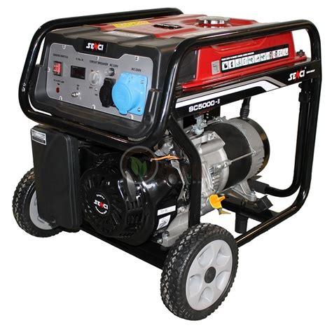 Motor Monofazic 1 8 Kw by Generator De Curent Senci Sc 5000 Monofazic Putere 4 5