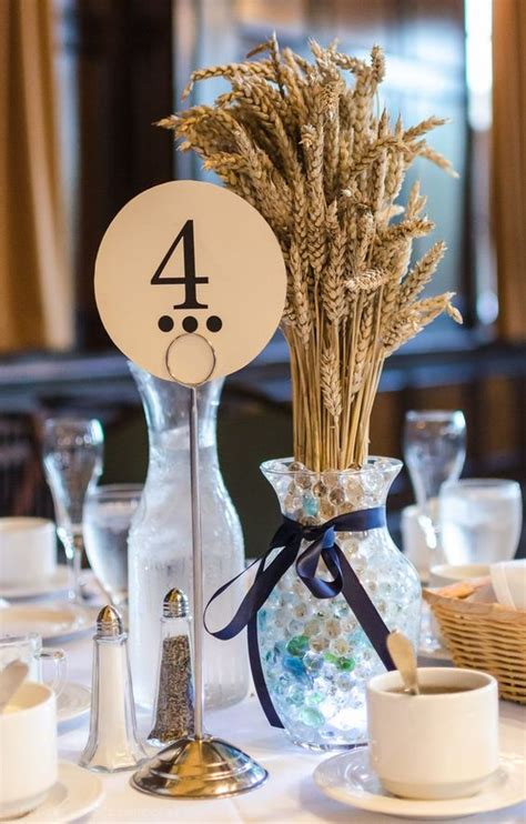wedding wheat rustic centerpieces table decor country fall catan board game settlers centerpiece games theme di weddings boots themed per