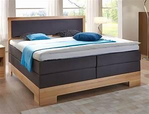 Schlafzimmer Set Mit Boxspringbett : schlafzimmer dijon premium kernbuche massiv boxspringbett ~ Lateststills.com Haus und Dekorationen